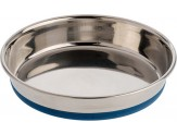 OurPet's Premium Rubber-Bonded Stainless Steel Cat Dish 16oz