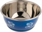 OurPet's DuraPet Fashion Bowl Blue-Small-Assorted Pattern