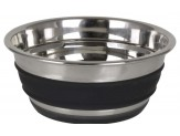 OurPets DuraPet Stainless Steel Chalkboard Banded Bowl Small 2cups