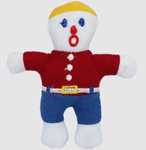 Multipet Mr.Bill Cat ToySize: 4 inch