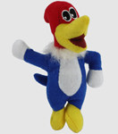 Multipet Woody Woodpecker Cat Toy
