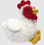 Multipet Look Whos Talking Chicken 5.5in