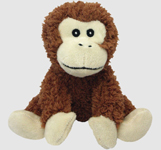 Multipet Look Whos Talking Monkey 7in