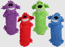 Multipet Loofa Water Bottle Dog Toy