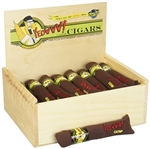 DuckyWorld Yeowww! Cigar with Slide Top Wooden Box 7in/24pc