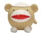 Hugglehounds Ruff Tex Sock Monkey Large