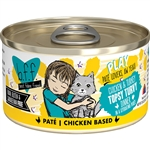 BFF Cat Play Tpsy Trvy Chicken 2.8 Oz. Case of 12