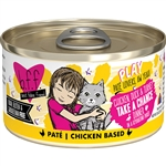 BFF Cat Play Take Chnce Chicken 2.8 Oz. Case of  24 (Case of  24)