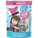 BFF Cat Play Tap Dnce Duck 3 Oz. Pouch (Case of  12)
