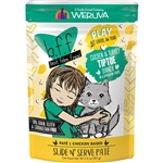 BFF Cat Play Tiptoe Chicken 3 Oz. Pouch (Case of  12)