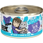 BFF Cat Play Tic Toc Beef 2.8 Oz. Case of  24 (Case of  24)