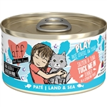 BFF Cat Play Tuck Me In Salmon 2.8 Oz. Case of 12