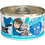 BFF Cat Play Til Then Chicken 2.8 Oz. Case of 12