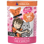 BFF Cat Play Shhh Tuna 3 Oz. Pouch (Case of  12)