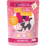 Cats In the Kitchen Cat Slide Karate Kitty 3 Oz. Pouch