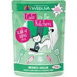 Cats In the Kitchen Cat Slide Bueller 3 Oz. Pouch (Case of  12)
