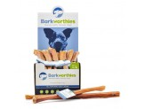 Barkworthies Bully Stick - Odor Free American Baked - 12'' Double Cut   Sold As Whole Case Of: 25