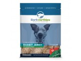 Barkworthies Rabbit Jerky Recipe With Apple & Kale Blend (Net. Wt. 12 Oz. )