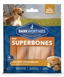 Barkworthies Mini SuperBone Ancient Grain Peanut Butter (12-Pack ) Sold As Whole Case Of: 12
