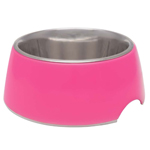 Loving Pet Retro Bowl Hot Pink X-Small