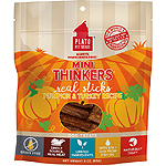 Plato Dog Min Thnkr Turkey Pumpkin 3 Oz.