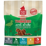 PLATO DOG MINI THINKERS DUCK 3OZ
