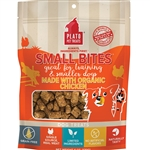 PLATO DOG SMALL BITES GRAIN FREE ORGANIC CHICKEN 6OZ