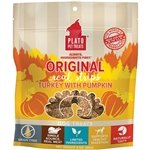 Plato Dog Strips Grain Free Turkey Pumpkin 6Oz