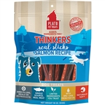 Plato Dog Thinkers Stick Salmon 18Oz