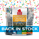 Plato Hundurs Crunch Jerky Minis Fish Dog Treats, 3.5OZ