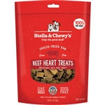 Stella & Chewys Dog Freeze-Dried Treat Beef Heart 3Oz