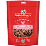 Stella & Chewys Dog Freeze-Dried Treat Chicken Hearts 3Oz