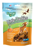 Emerald Pet Little Duckies and Pumpkin Dog Treats 5oz