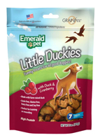 Emerald Pet Little Duckies and Cranberry Dog Treats 5oz