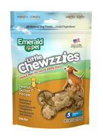 Emerald Pet Little Chewzzies Peanut Butter Dog Treats 5oz