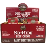 Earth Animal Dog No-Hide Beef 27 Pieces Display