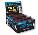"Etta Says! Dog Crunch Rabbit CW Stick 4"" (36 Count)"
