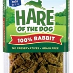 HARE Dog 100% Rabbit Tender Treat 2.5 oz.