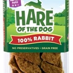 HARE Dog 100% Rabbit Jerky Medium 2.5 oz.