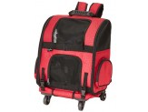Gen7Pets Roller-Carrier Red Geometric Medium