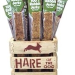 HARE Dog 100% Rabbit Jerky Refill  (36 Piece)