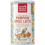 Seasonal  Honest Kitchen  Dog/Cat Instant Pumpkin Latte 4 oz.