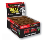 Etta Says! Dog Crunch Chew BARS Pork 12 Count