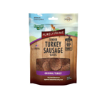 Emerald Pet Purely Prime Sausage Original Turkey 3oz