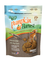 Emerald Pet Pumpkin Harvest Chia Seed Chewy Dog Treats 6oz