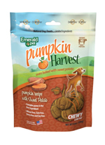 Emerald Pet Pumpkin Harvest Sweet Potato Chewy Dog Treats 6oz