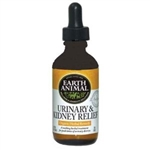Earth Animal Organic Herbal Remedies - Urinary & Kidney Relief - 2 oz.