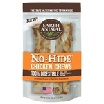 "Earth Animal No Hide Chicken Chews Dog Treats, 4"", 2 Pack"