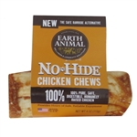 "Earth Animal No Hide Chicken Chews Dog Treats, 4"" (24 counter box)"