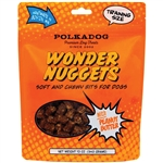 POLKA DOG BAKERY DOG WONDER NUGGETS PEANUT BUTTER 12OZ